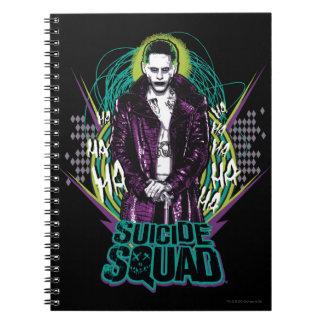 Suicide Squad | Joker Retro Rock Graphic Spiral Notebook