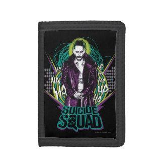 Suicide Squad | Joker Retro Rock Graphic Tri-fold Wallets