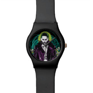 Suicide Squad | Joker Retro Rock Graphic Wrist Watches