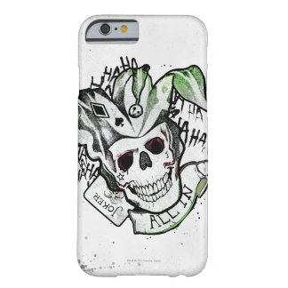 "Suicide Squad | Joker Skull ""All In"" Tattoo Art Barely There iPhone 6 Case"