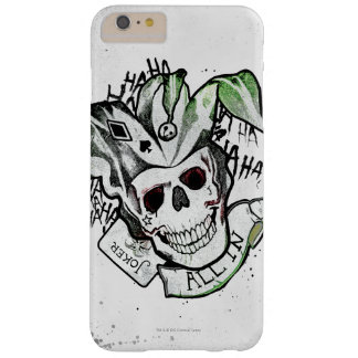 "Suicide Squad | Joker Skull ""All In"" Tattoo Art Barely There iPhone 6 Plus Case"