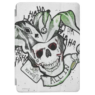"Suicide Squad | Joker Skull ""All In"" Tattoo Art iPad Air Cover"