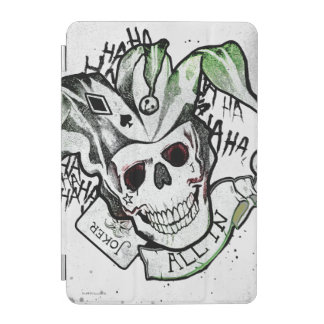 "Suicide Squad | Joker Skull ""All In"" Tattoo Art iPad Mini Cover"