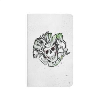 "Suicide Squad | Joker Skull ""All In"" Tattoo Art Journal"