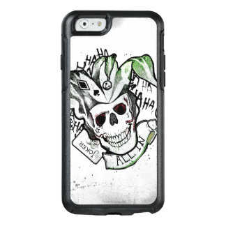 "Suicide Squad | Joker Skull ""All In"" Tattoo Art OtterBox iPhone 6/6s Case"