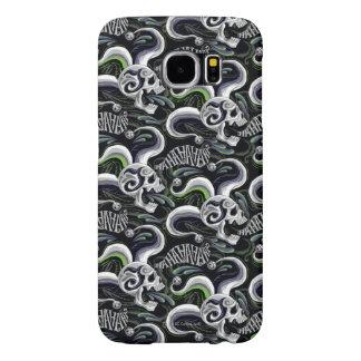 Suicide Squad | Joker Skull - Haha Samsung Galaxy S6 Cases
