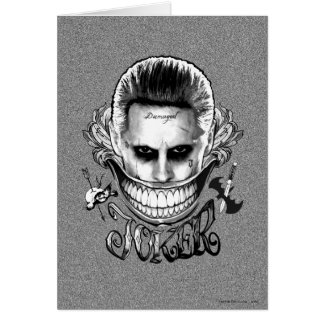 Suicide Squad | Joker Smile Card