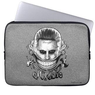 Suicide Squad | Joker Smile Laptop Sleeve
