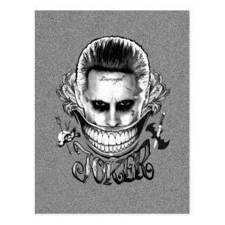 Suicide Squad | Joker Smile Postcard