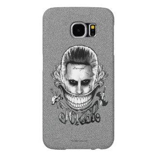Suicide Squad | Joker Smile Samsung Galaxy S6 Cases