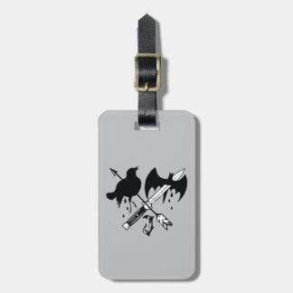 Suicide Squad | Joker Symbol Luggage Tag