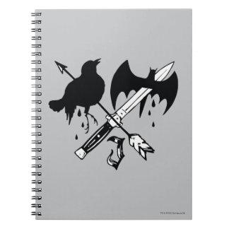 Suicide Squad | Joker Symbol Notebook