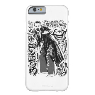 Suicide Squad | Joker Typography Photo Barely There iPhone 6 Case