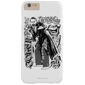 Suicide Squad | Joker Typography Photo Barely There iPhone 6 Plus Case