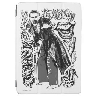 Suicide Squad | Joker Typography Photo iPad Air Cover