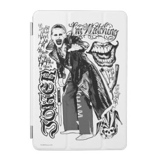 Suicide Squad | Joker Typography Photo iPad Mini Cover