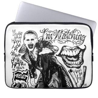 Suicide Squad | Joker Typography Photo Laptop Sleeve
