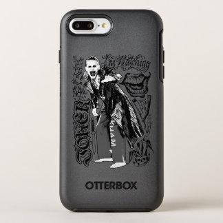 Suicide Squad | Joker Typography Photo OtterBox Symmetry iPhone 8 Plus/7 Plus Case