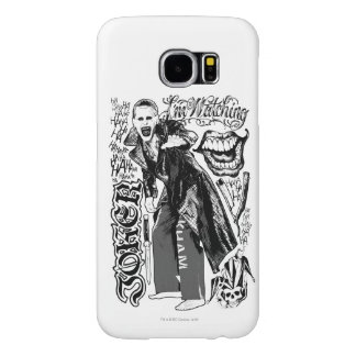 Suicide Squad | Joker Typography Photo Samsung Galaxy S6 Cases