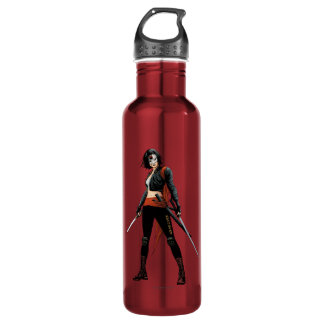 Suicide Squad | Katana Comic Book Art 710 Ml Water Bottle