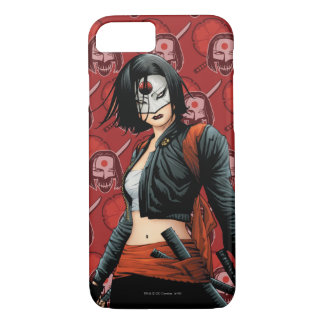 Suicide Squad | Katana Comic Book Art iPhone 8/7 Case