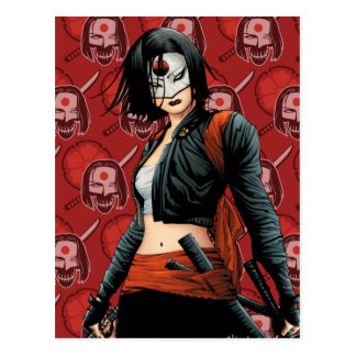 Suicide Squad | Katana Comic Book Art Postcard