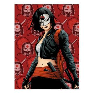 Suicide Squad | Katana Comic Book Art Postcard
