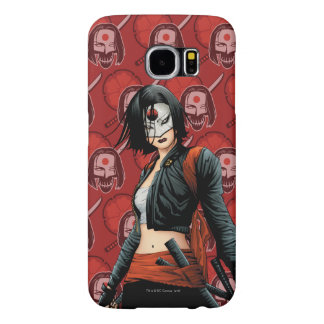 Suicide Squad | Katana Comic Book Art Samsung Galaxy S6 Cases