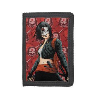 Suicide Squad | Katana Comic Book Art Tri-fold Wallet
