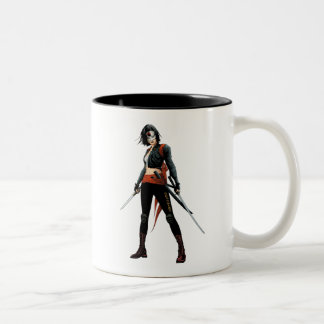 Suicide Squad | Katana Comic Book Art Two-Tone Coffee Mug