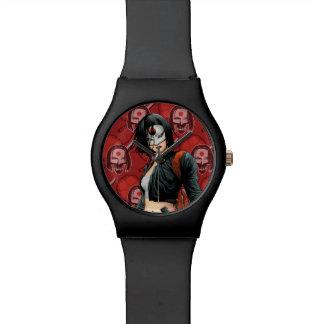 Suicide Squad   Katana Comic Book Art Watches