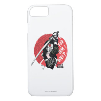 "Suicide Squad | Katana ""For Him I Weep"" iPhone 8/7 Case"