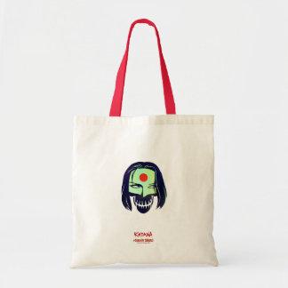 Suicide Squad | Katana Head Icon Budget Tote Bag
