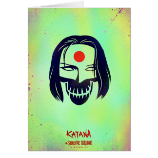 Suicide Squad | Katana Head Icon Card