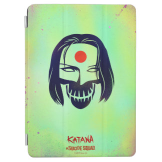 Suicide Squad | Katana Head Icon iPad Air Cover