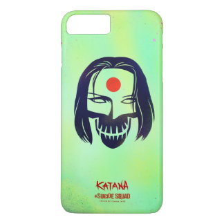 Suicide Squad   Katana Head Icon iPhone 8 Plus/7 Plus Case