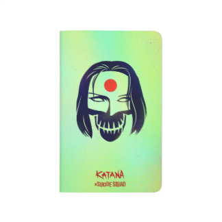 Suicide Squad | Katana Head Icon Journals