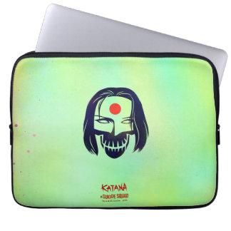 Suicide Squad | Katana Head Icon Laptop Sleeve