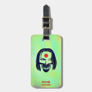 Suicide Squad | Katana Head Icon Luggage Tag