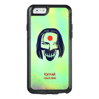 Suicide Squad | Katana Head Icon OtterBox iPhone 6/6s Case
