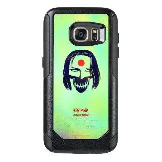 Suicide Squad | Katana Head Icon OtterBox Samsung Galaxy S7 Case