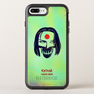 Suicide Squad | Katana Head Icon OtterBox Symmetry iPhone 7 Plus Case
