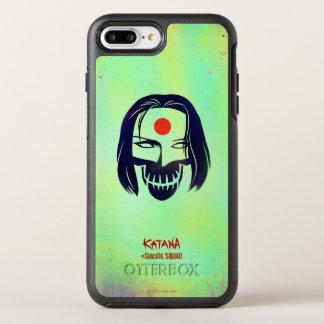 Suicide Squad | Katana Head Icon OtterBox Symmetry iPhone 8 Plus/7 Plus Case