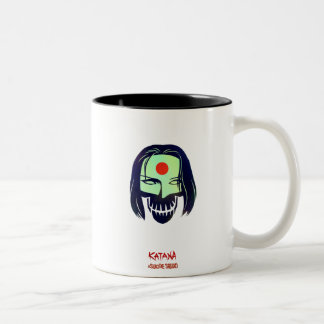 Suicide Squad | Katana Head Icon Two-Tone Coffee Mug