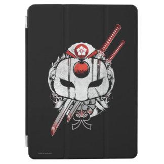 Suicide Squad | Katana Mask & Swords Tattoo Art iPad Air Cover