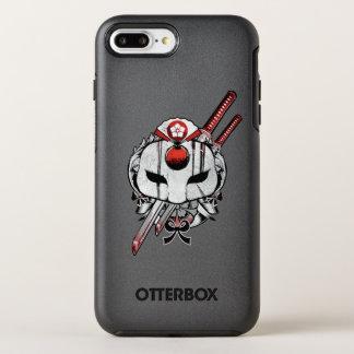 Suicide Squad | Katana Mask & Swords Tattoo Art OtterBox Symmetry iPhone 8 Plus/7 Plus Case