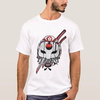 Suicide Squad | Katana Mask & Swords Tattoo Art T-Shirt