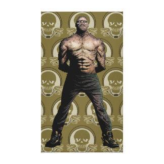 Suicide Squad | Killer Croc Comic Book Art Canvas Print
