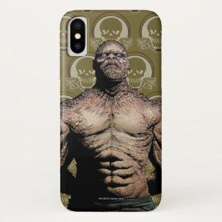 Suicide Squad | Killer Croc Comic Book Art iPhone X Case