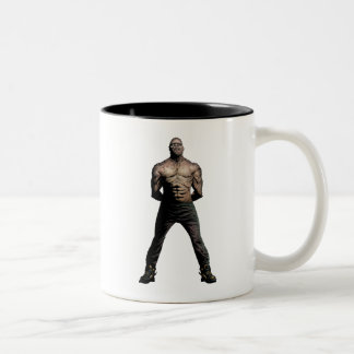 Suicide Squad | Killer Croc Comic Book Art Two-Tone Coffee Mug